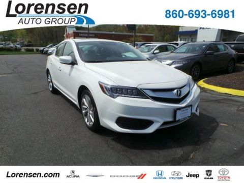 Pre-Owned 2017 Acura ILX Sedan w/Premium Pkg FWD 4dr Car