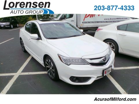 New 2016 Acura ILX with Technology Plus and A-SPEC Package With Navigation