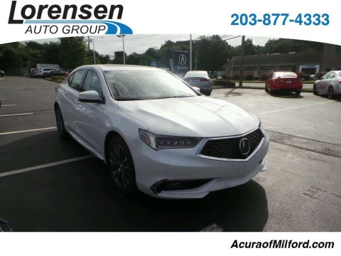 New 2018 Acura TLX 3.5 V-6 9-AT P-AWS with Advance Package With Navigation