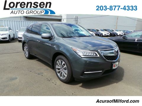 New 2016 Acura MDX SH-AWD with Tech., Ent. and AcuraWatch Plus Packages With Navigation