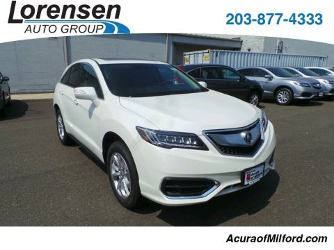 New 2018 Acura RDX AWD with Technology and AcuraWatch Plus Packages With Navigation