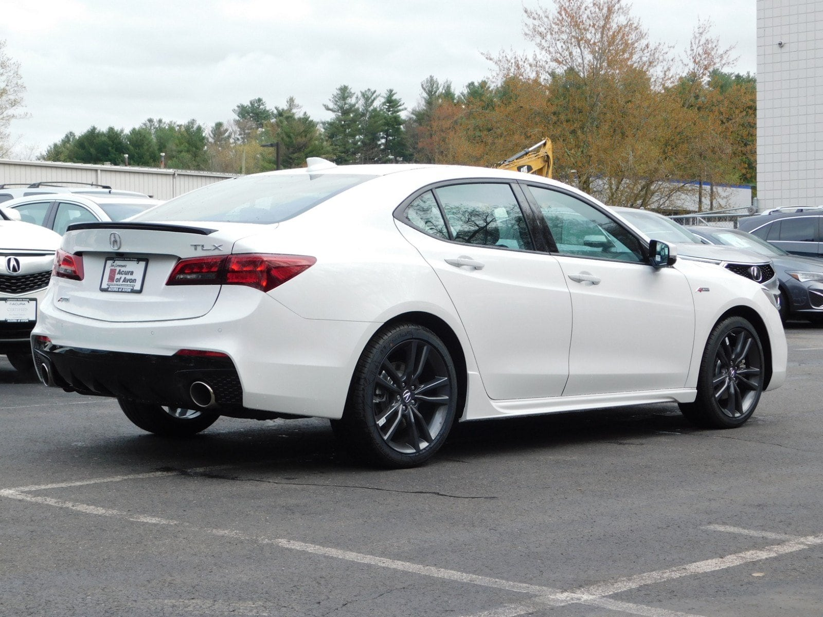 New 2020 Acura Tlx With A Spec Package Sedan In Milford 20000