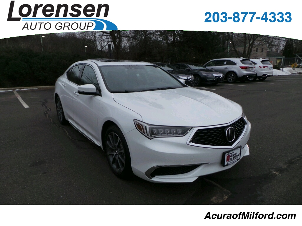 New 2018 Acura TLX 3.5 V-6 9-AT P-AWS with Technology Package