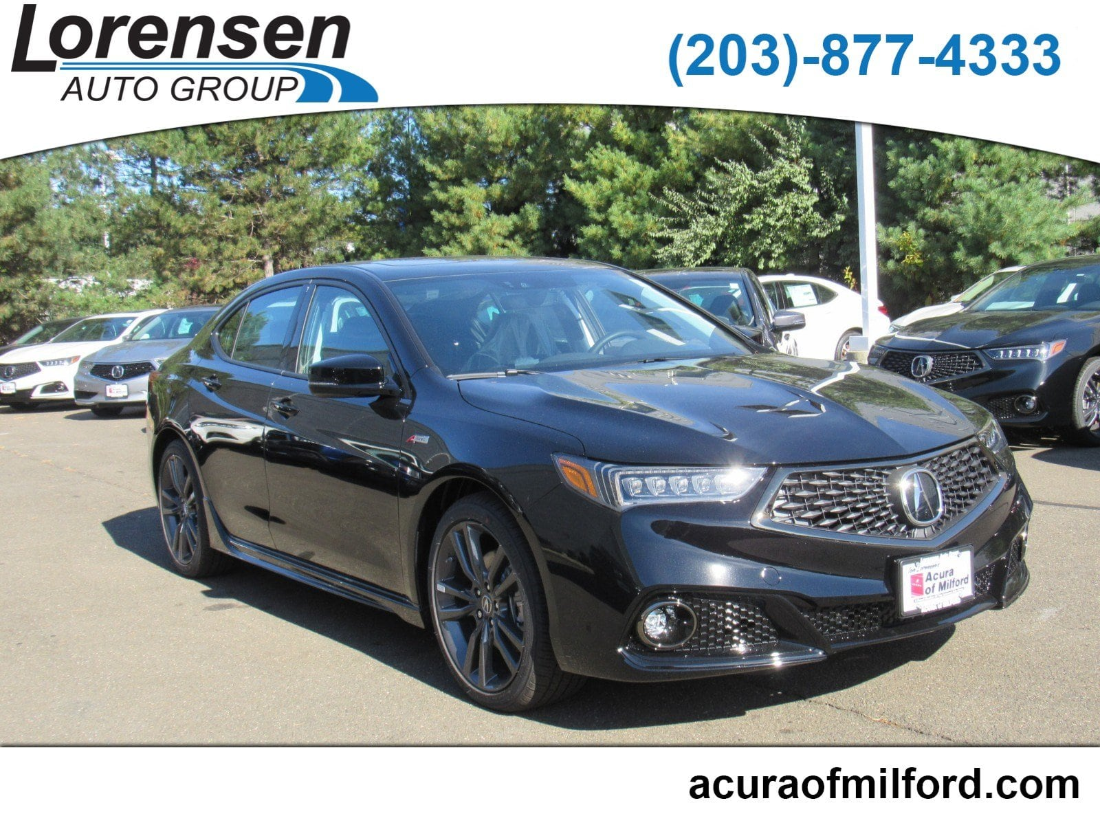 New 2019 Acura TLX 3 5 V 6 9 AT P AWS with A SPEC Sedan in Milford