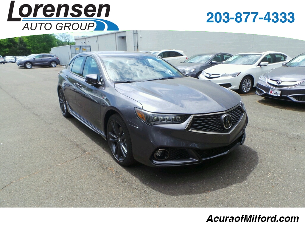 New 2018 Acura TLX 3.5 V-6 9-AT P-AWS with A-SPEC Sedan in Milford #18009 | Acura of Milford