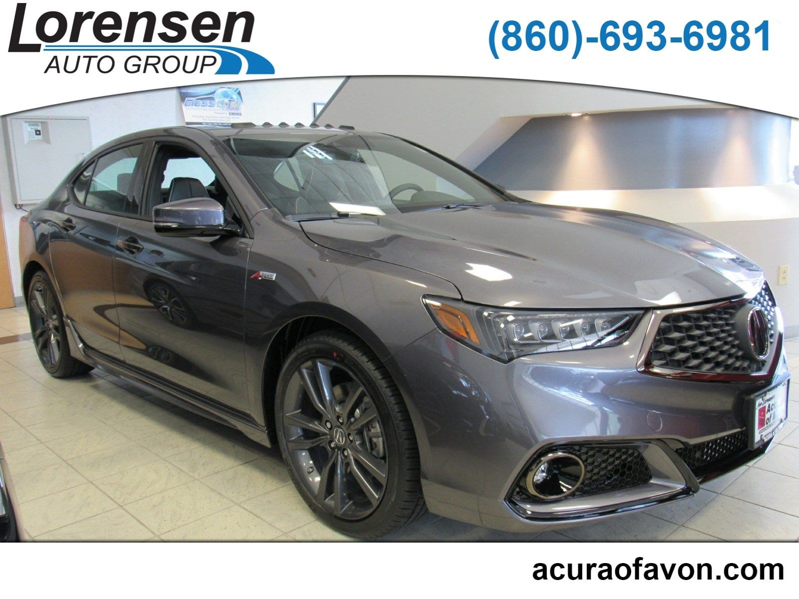 New 2019 Acura TLX 3 5 V 6 9 AT SH AWD with A SPEC Sedan in Milford