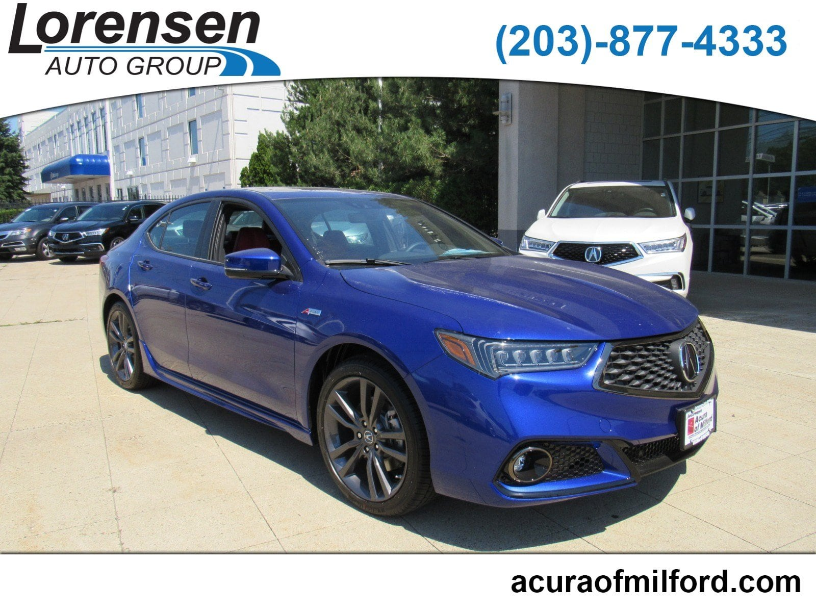 New 2019 Acura TLX 3 5 V 6 9 AT SH AWD with A SPEC RED Sedan in
