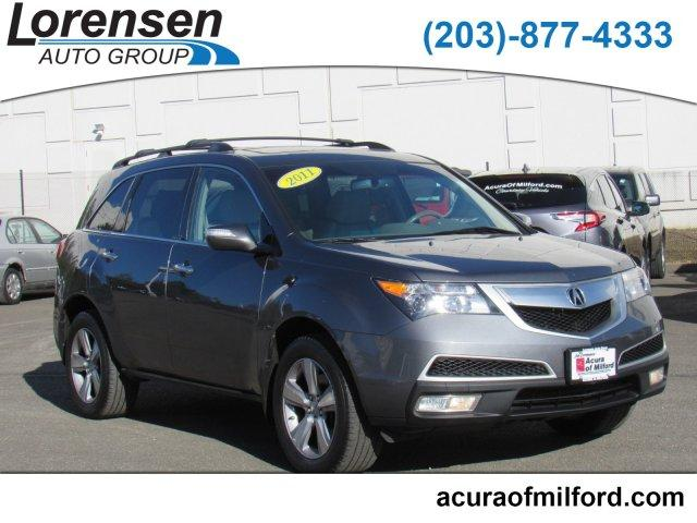 Pre-Owned 2011 Acura MDX AWD 4dr Tech Pkg