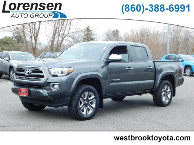 Pre Owned 2017 Toyota Tacoma Limited Double Cab 5 Bed V6 4x4 At Crew Pickup In Ord 19402a Acura Of