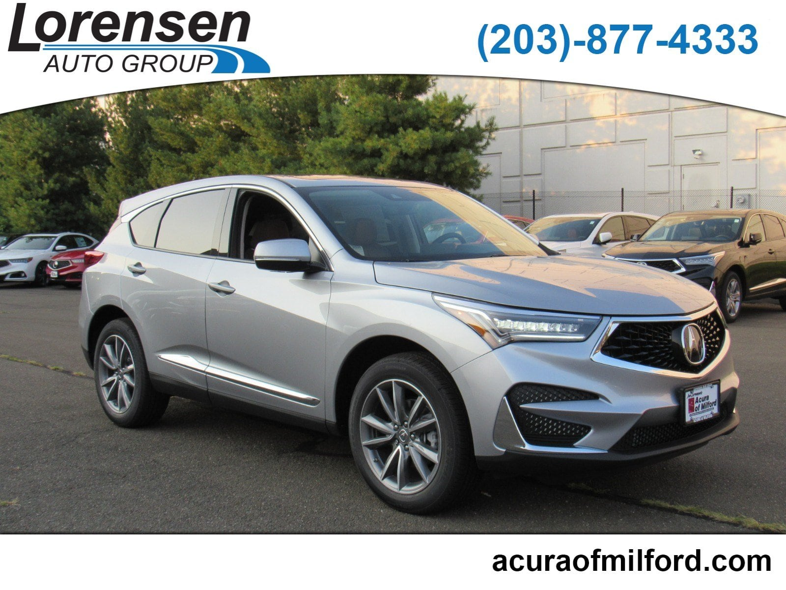 New 2019 Acura RDX SH AWD with Technology Package SUV in Milford