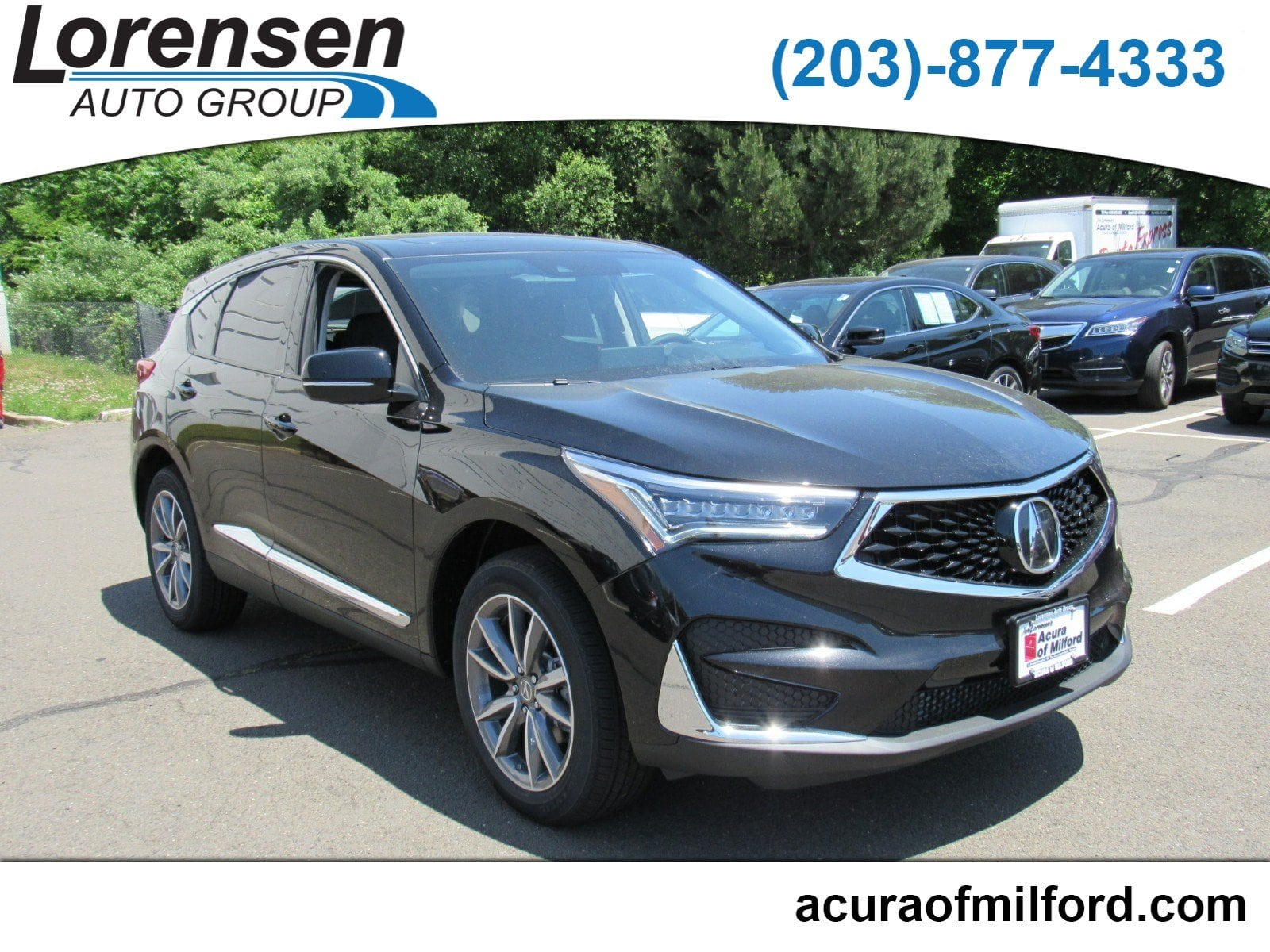 new 2019 acura rdx sh awd tech suv in milford 19016 acura of milford