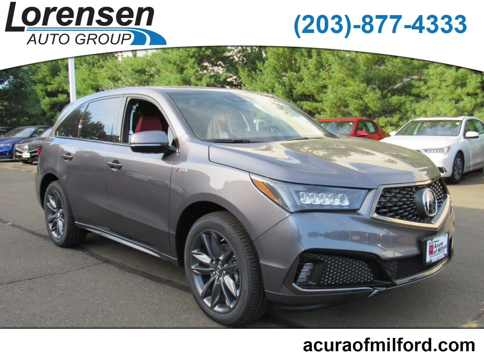 New 2019 Acura MDX SH AWD with A Spec Package SUV in Milford
