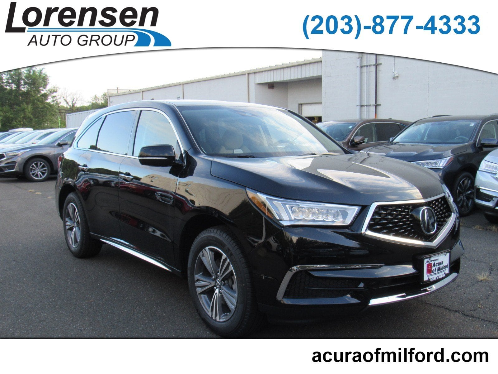 New 2019 Acura MDX SH AWD SUV in Milford