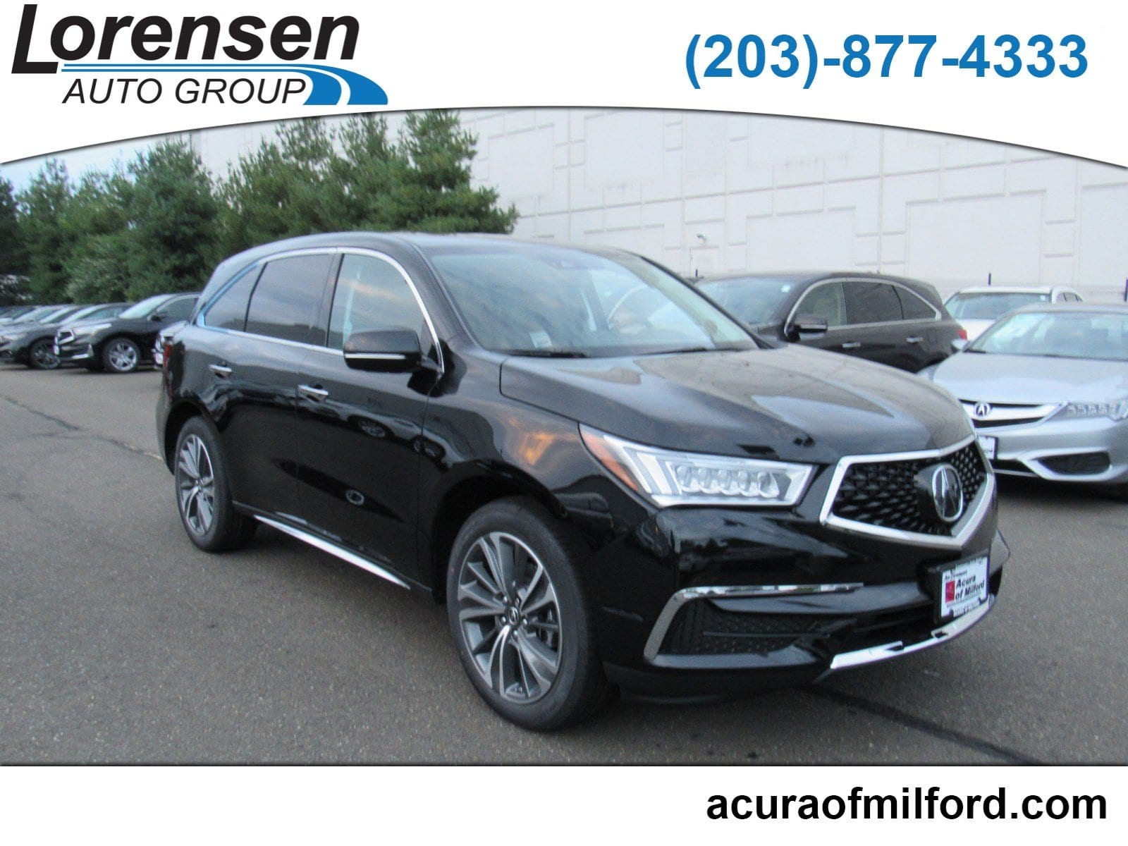 New 2019 Acura MDX SH AWD with Technology Package SUV in Milford