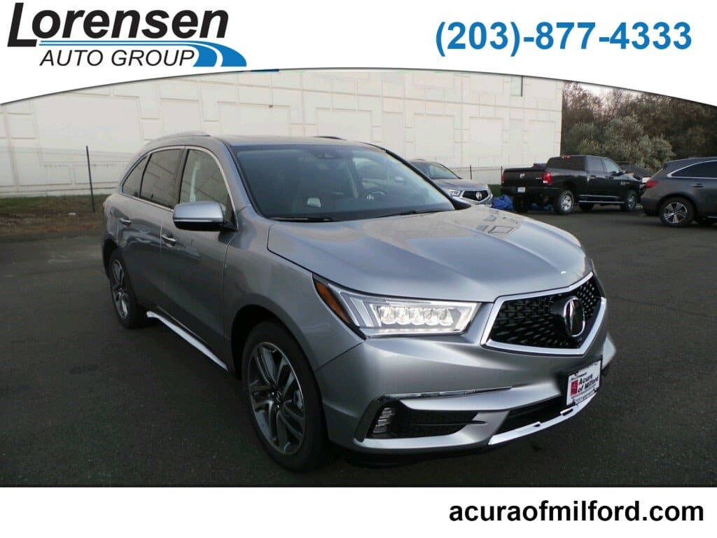 New 2018 Acura Mdx Sh Awd With Advance Package