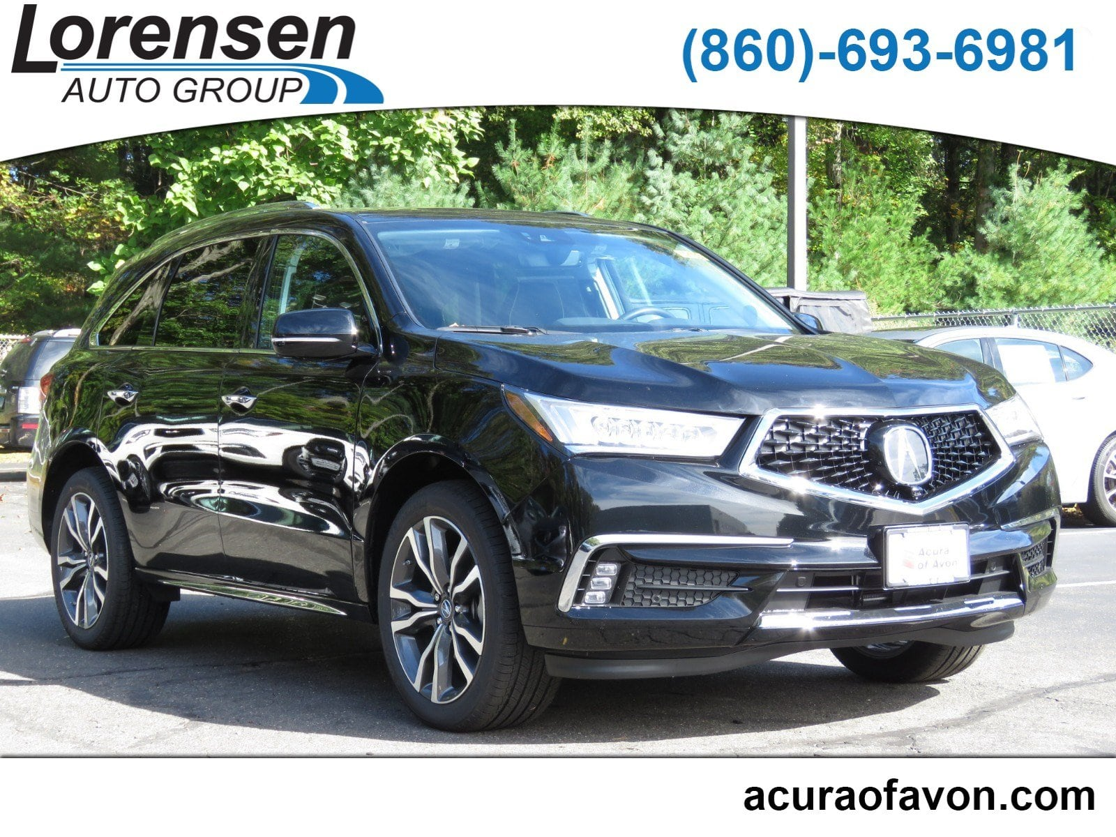 New 2019 Acura MDX SH AWD with Advance Package SUV in Milford