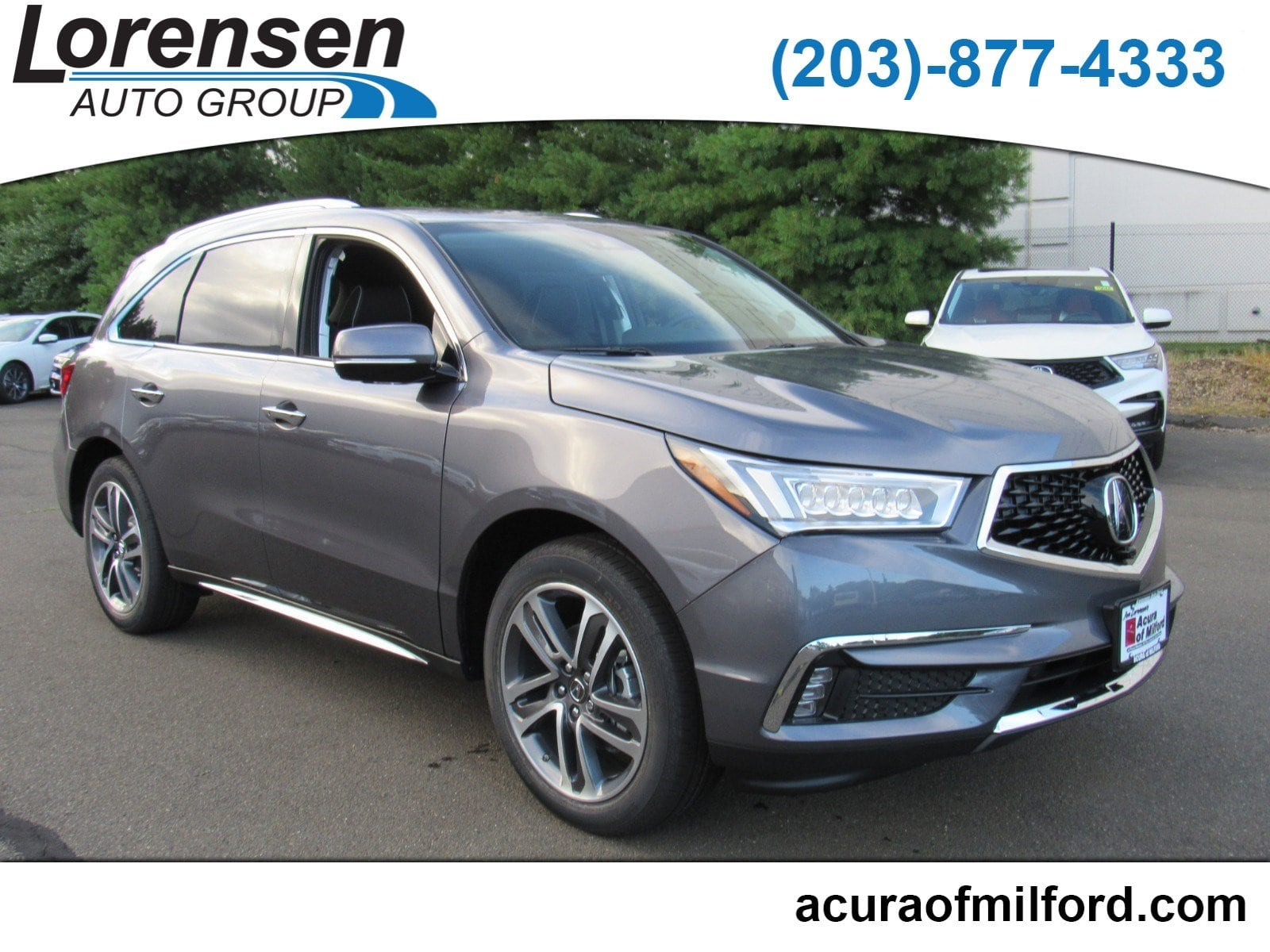 New 2018 Acura MDX SH AWD with Advance Package SH AWD w Advance Pkg