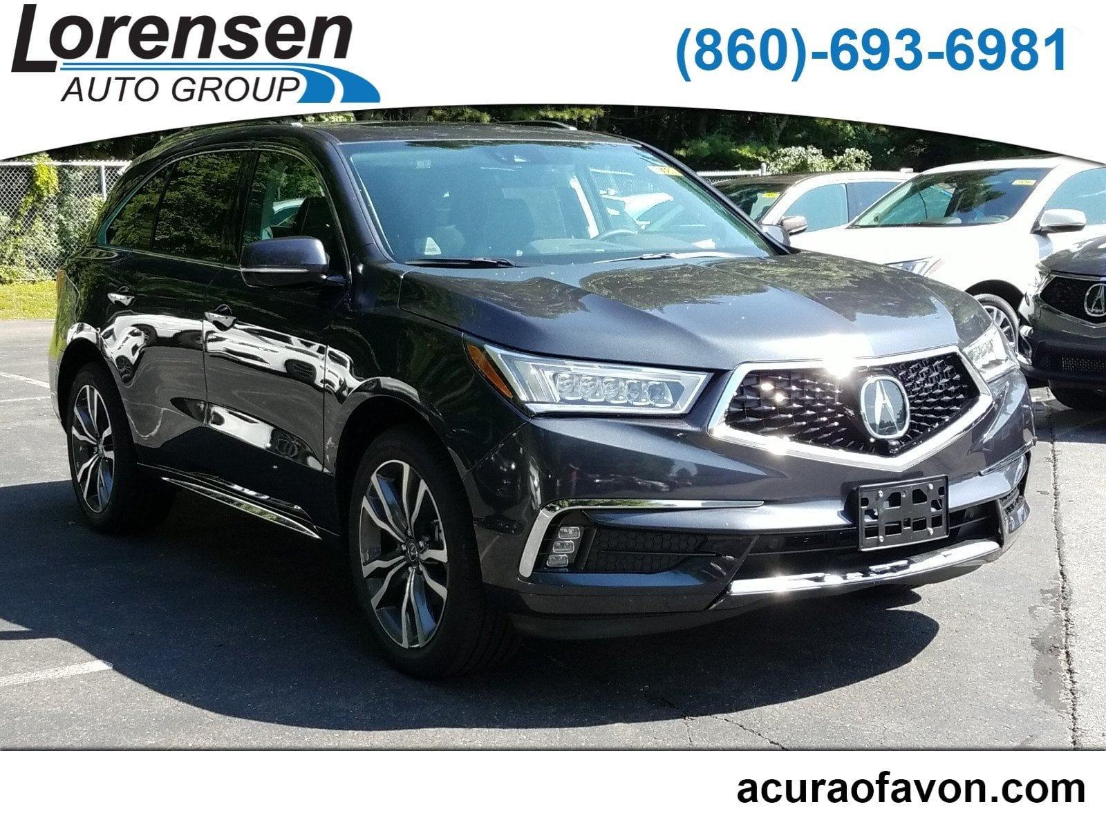 New 2019 Acura MDX AWD ADVANCE 7P ENTERTAINMENT SH AWD w Advance