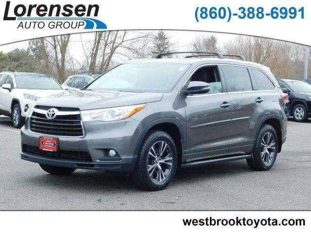 Pre Owned 2016 Toyota Highlander Awd 4dr V6 Xle Sport Utility In Ord 55517 Acura Of