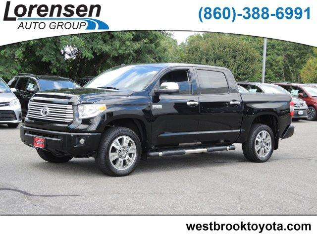 Pre-Owned 2017 Toyota Tundra 4WD Platinum CrewMax 5.5' Bed 5.7L