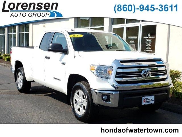 Pre-Owned 2017 Toyota Tundra 4WD SR5 Double Cab 6.5' Bed 5.7L