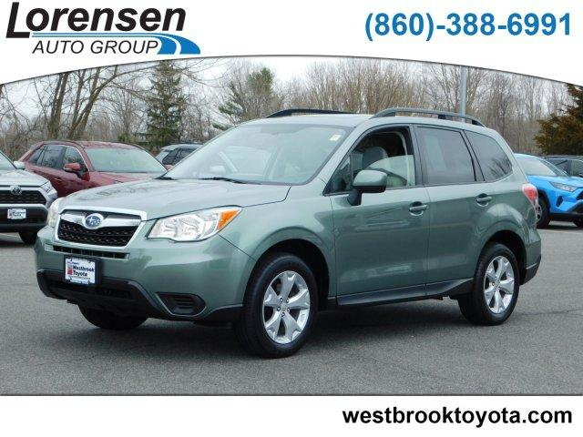Pre Owned 2015 Subaru Forester 4dr Man 2 5i Premium Pzev Sport