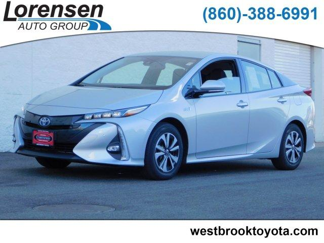 Pre Owned 2017 Toyota Prius Prime Advanced 4dr Car In Milford