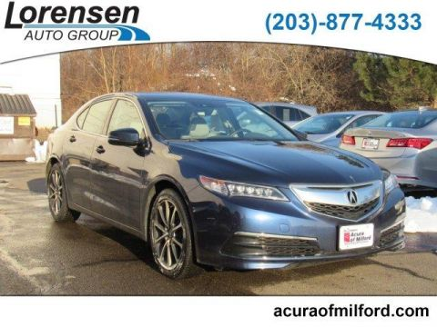 Pre-Owned 2016 Acura TLX 4dr Sdn SH-AWD V6 Tech