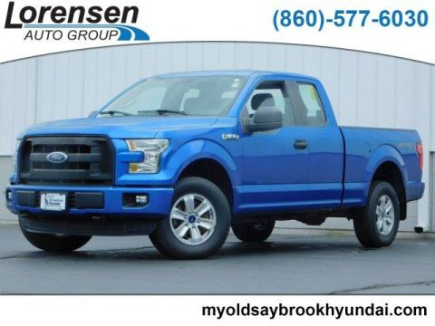 Pre-Owned 2015 Ford F-150 4WD SuperCab 145 XL
