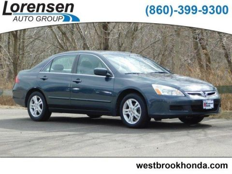 Pre-Owned 2007 Honda Accord 4dr I4 AT EX-L