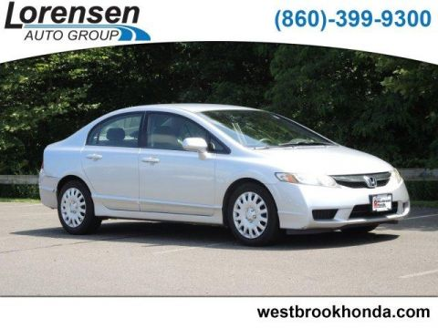Pre-Owned 2009 Honda Civic 4dr Auto LX