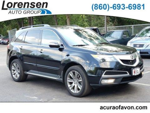 Pre-Owned 2013 Acura MDX AWD 4dr Advance Pkg