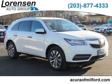 Pre-Owned 2016 Acura MDX SH-AWD 4dr w/Tech