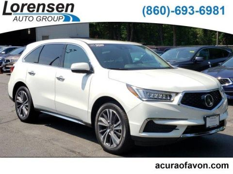 Pre-Owned 2019 Acura MDX SH-AWD w/Technology Pkg