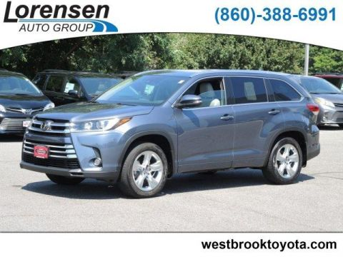 Pre-Owned 2017 Toyota Highlander Limited V6 AWD