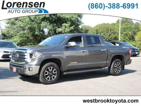 Pre-Owned 2018 Toyota Tundra 4WD Limited CrewMax 5.5' Bed 5.7L