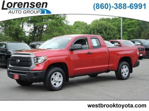 Pre-Owned 2018 Toyota Tundra 4WD SR Double Cab 6.5' Bed 4.6L