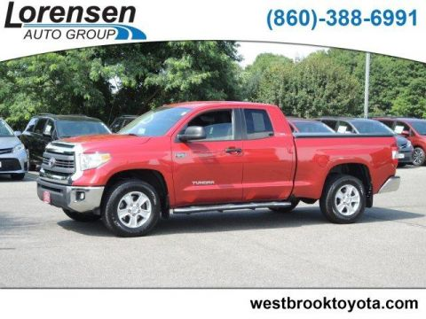 Pre-Owned 2014 Toyota Tundra 4WD Double Cab 5.7L V8 6-Spd AT SR5